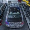 BMW 5シリーズ 次期型の開発プロトタイプ車