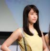 『ワンデー アキュビュー ディファイン モイスト』新製品発表会に山本美月が登壇(2016年6月23日)