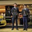 メルセデス・ベンツ日本代表取締役社長兼CEOの上野金太郎氏(左)とシュテルン品川代表取締役社長の須田利夫氏(右)