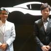 前ロードスター開発責任者の山本修弘 氏(左)と現開発責任者の中山雅 氏