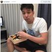 競泳・立石諒、弁当を食べる姿に、ファンからツッコミ多数