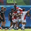 【リオ2016】男子7人制ラグビー、日本がニュージーランドを破る