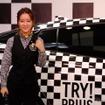 生田佳那(チェッカープリウス体験イベント「TRY! SHIBUYA TRY! PRIUS」、8月11~14日、渋谷にて)