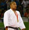 北京五輪、柔道100キロ超級で金メダリストを獲った石井慧(2008年8月15日)