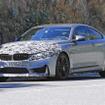BMW M4 スクープ写真