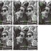 スペシャルフォトブースで撮影できるシェイク シャックのオリジナルフレーム イメージ画像