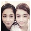 平祐奈、姉・愛梨との顔交換写真を公開「一緒にいると似ていくのかな」