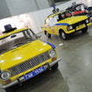 GIBDDのパトカー展示コーナー