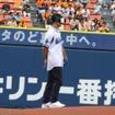 横浜スタジアム バーチャル始球式(Galaxy Day)