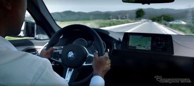 次期BMW 5 シリーズセダンのインテリア