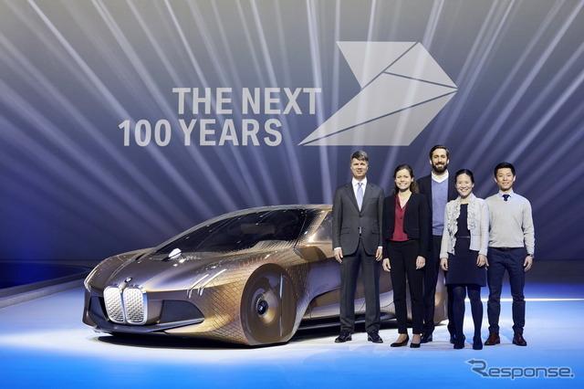 BMWブランドのVisionNext100