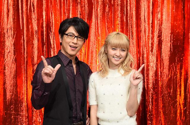 司会を務める及川光博(左)&Dream Ami(右)-(C)TBS