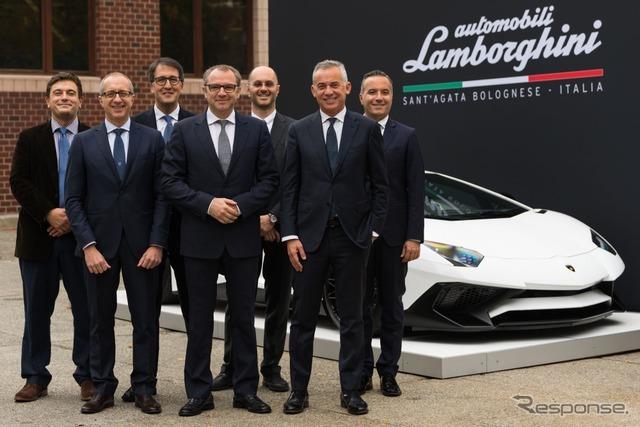 ランボルギーニとマサチューセッツ工科大学が提携を発表