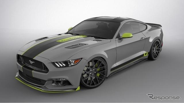 フォード パフォーマンスの新型マスタングの予告イメージ