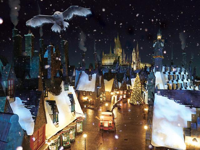「ウィザーディング・ワールド・オブ・ハリー・ポッター」のクリスマス!