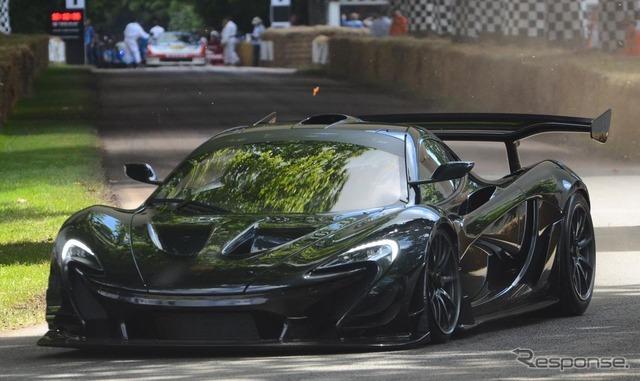 マクラーレン P1 GTR LM