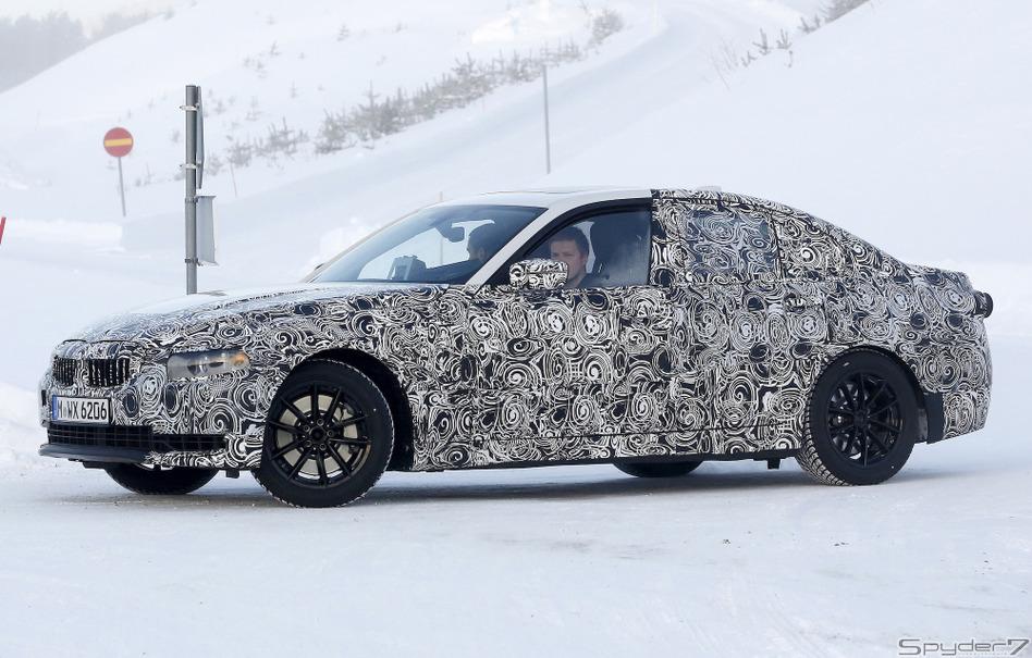 BMW 3シリーズ 次世代型プロトタイプ