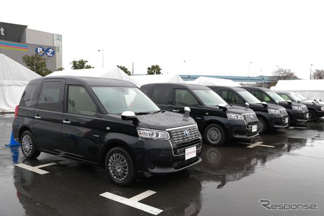 トヨタ次世代タクシー