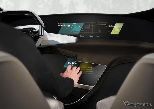BMWのホロ アクティブ タッチ