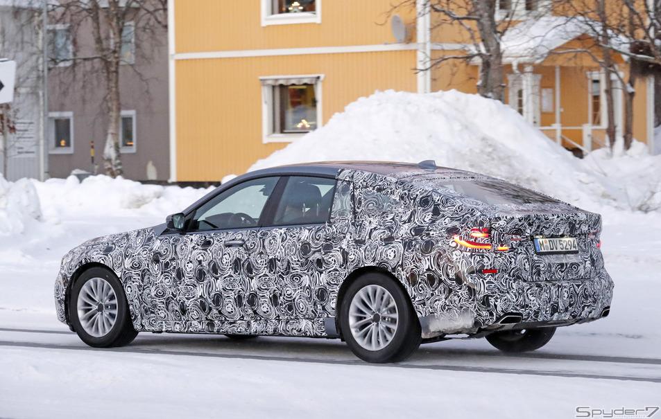 BMW 6シリーズ GTスクープ写真