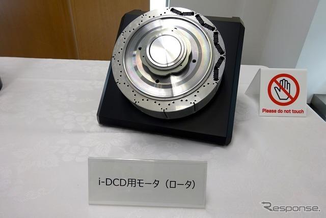 希土類不使用の磁石によるHV用モーター(部品)