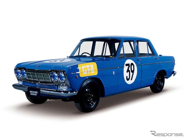 プリンス・スカイラインGT 第二回日本グランプリ GT-IIレース仕様車 S54A-1型(1964年)