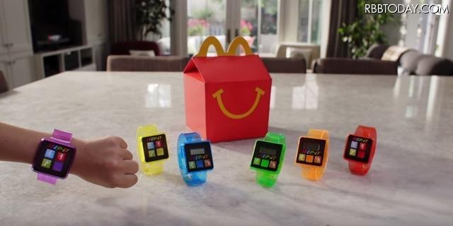 米マクドナルド、腕時計型の活動量計機能付きおもちゃ「Step-It」の提供を開始