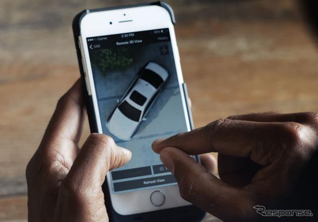 次期BMW5シリーズセダンに採用される「リモートビュー3D」