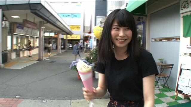 横山由依「情熱大陸」(C)TBS
