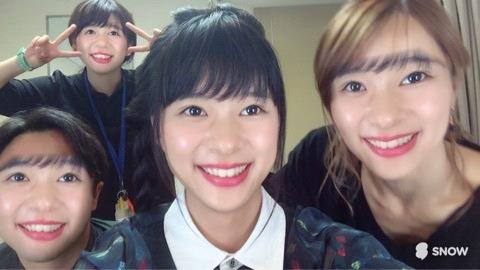 芳根京子が4人!?顔交換アプリで芳根だらけの写真を公開