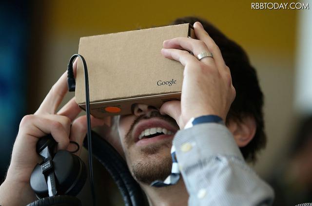 「Google Cardboard」(C)Getty Images