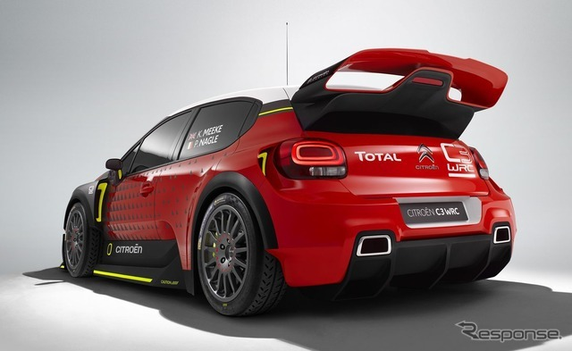 シトロエン C3 WRC コンセプト