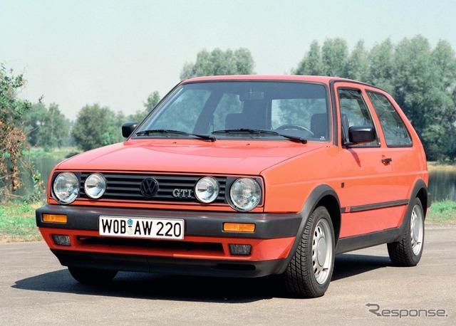 VW ゴルフGTI 2代目