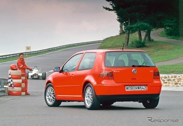 VW ゴルフGTI 4代目
