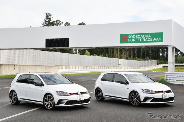 VW ゴルフGTI の登場40周年を記念する特別モデル「クラブスポーツ」