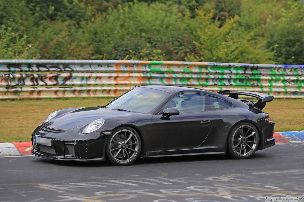 ポルシェ 911 GT3スクープ写真