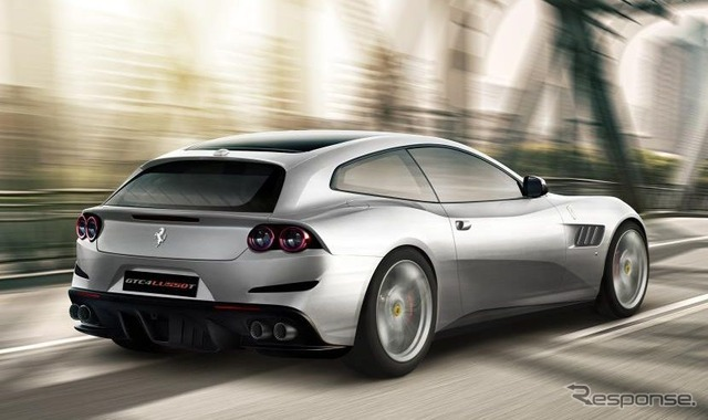 フェラーリ GTC 4ルッソT