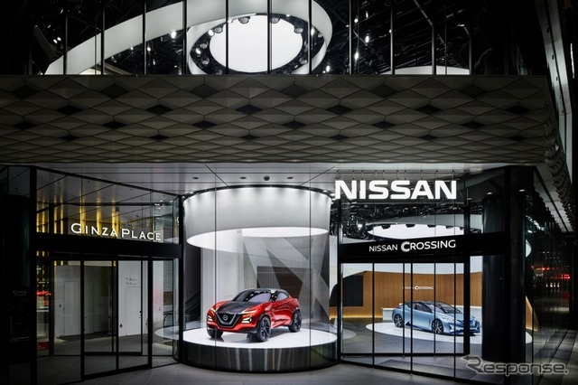 NISSAN CROSSING