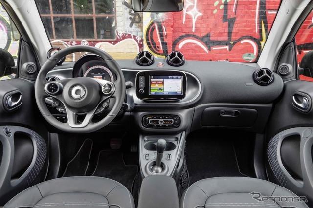 新型スマート フォーツー・エレクトリックドライブ