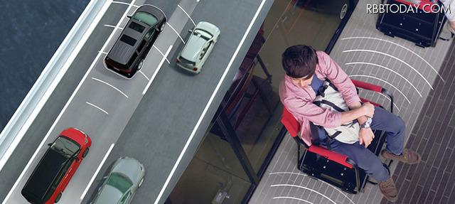 えっ、イスに座ったまま行列が進む!? 自動運転技術を生かした日産の「プロパイロットチェア」がスゴい