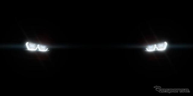 BMWのコンセプトカーの予告イメージ
