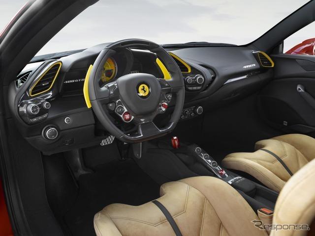 フェラーリ 488 GTB のシューマッハ仕様