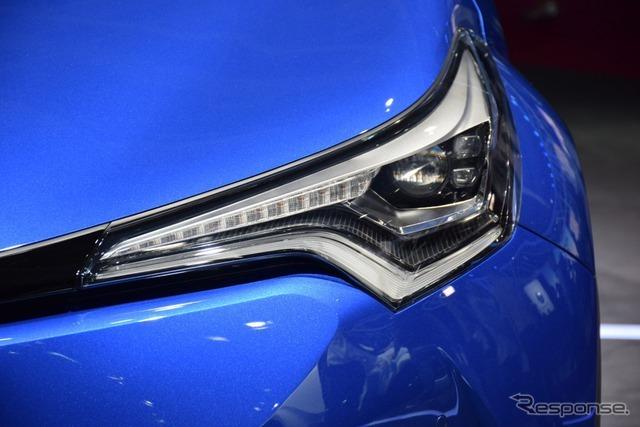 トヨタ C-HR(パリモーターショー16)