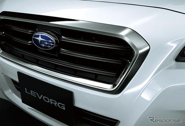 スバル レヴォーグ 1.6GT EyeSight スマートエディション メッキ加飾付フロントグリル