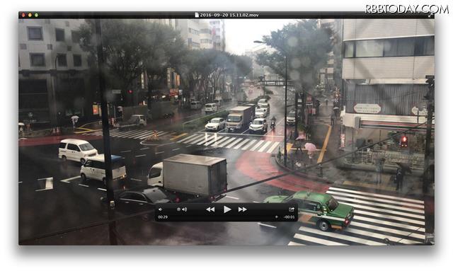 iPhone 7 Plusで撮影した4K動画の画面をキャプチャー