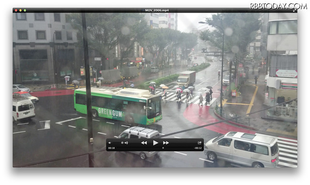 Xperia Z5 Premiumで撮影した4K動画の画面をキャプチャー