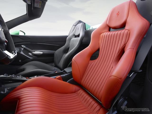 フェラーリ 488スパイダーのザ・グリーン・ジュエル