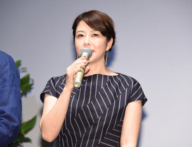 堀内敬子/ドラマ「砂の塔~知りすぎた隣人」特別試写会&舞台挨拶