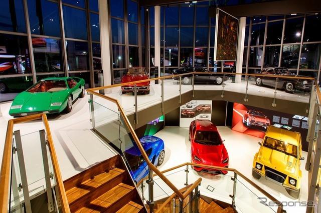 リニューアルしたランボルギーニ・ミュージアム