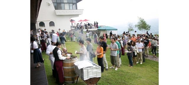 「妙高ワインフェスティバル」昨年の様子